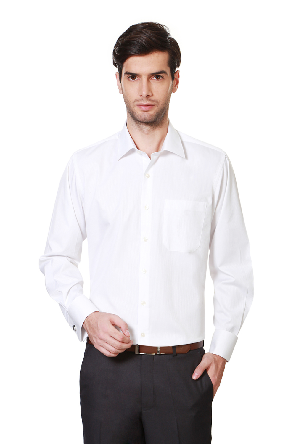 76e8971ffc02b3 Louis Philippe Shirts, Louis Philippe White Shirt for Men at Louisphilippe .com