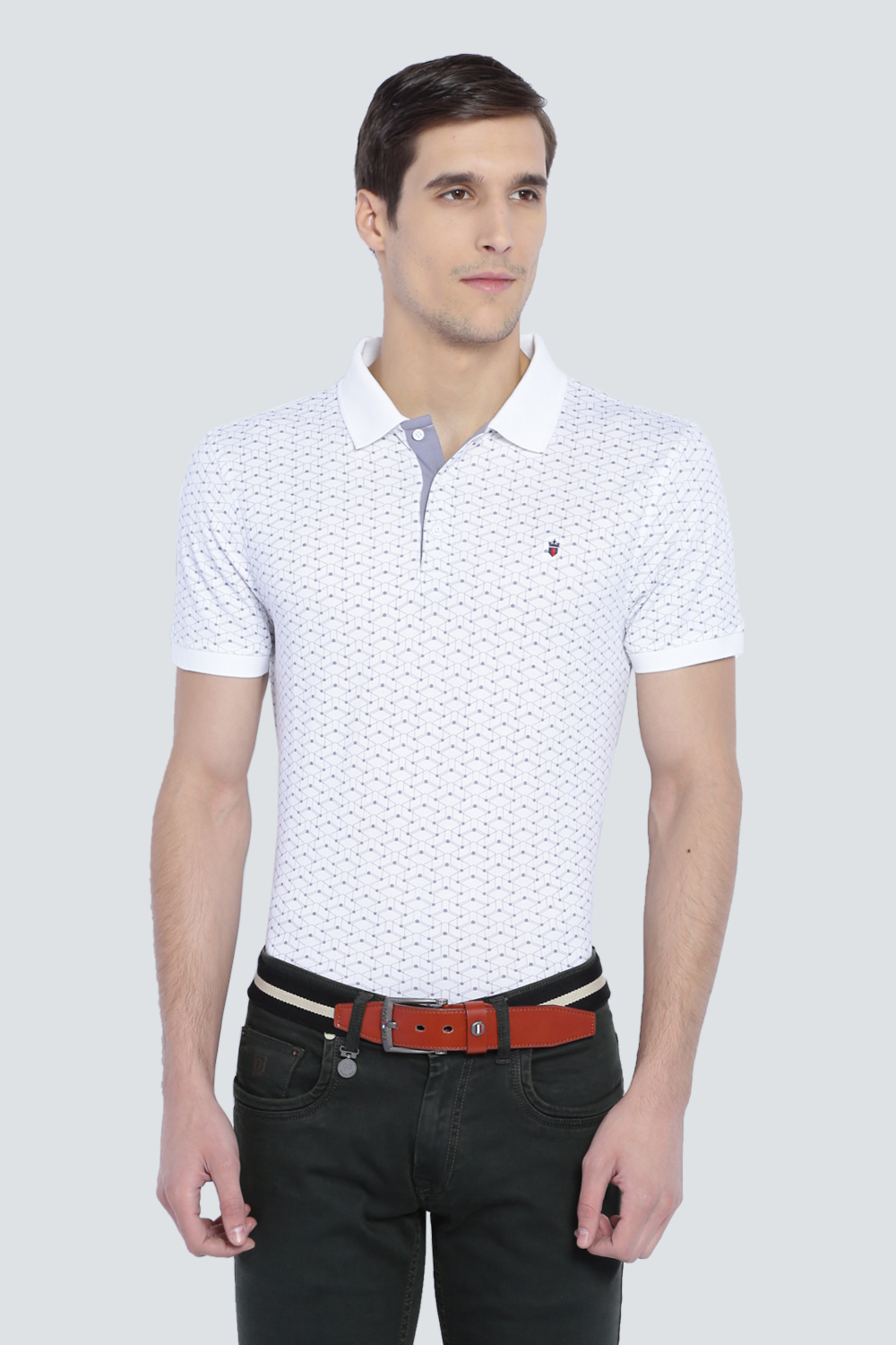 2833c21b213f86 LP T-Shirts, Louis Philippe White T Shirt for Men at Louisphilippe.com