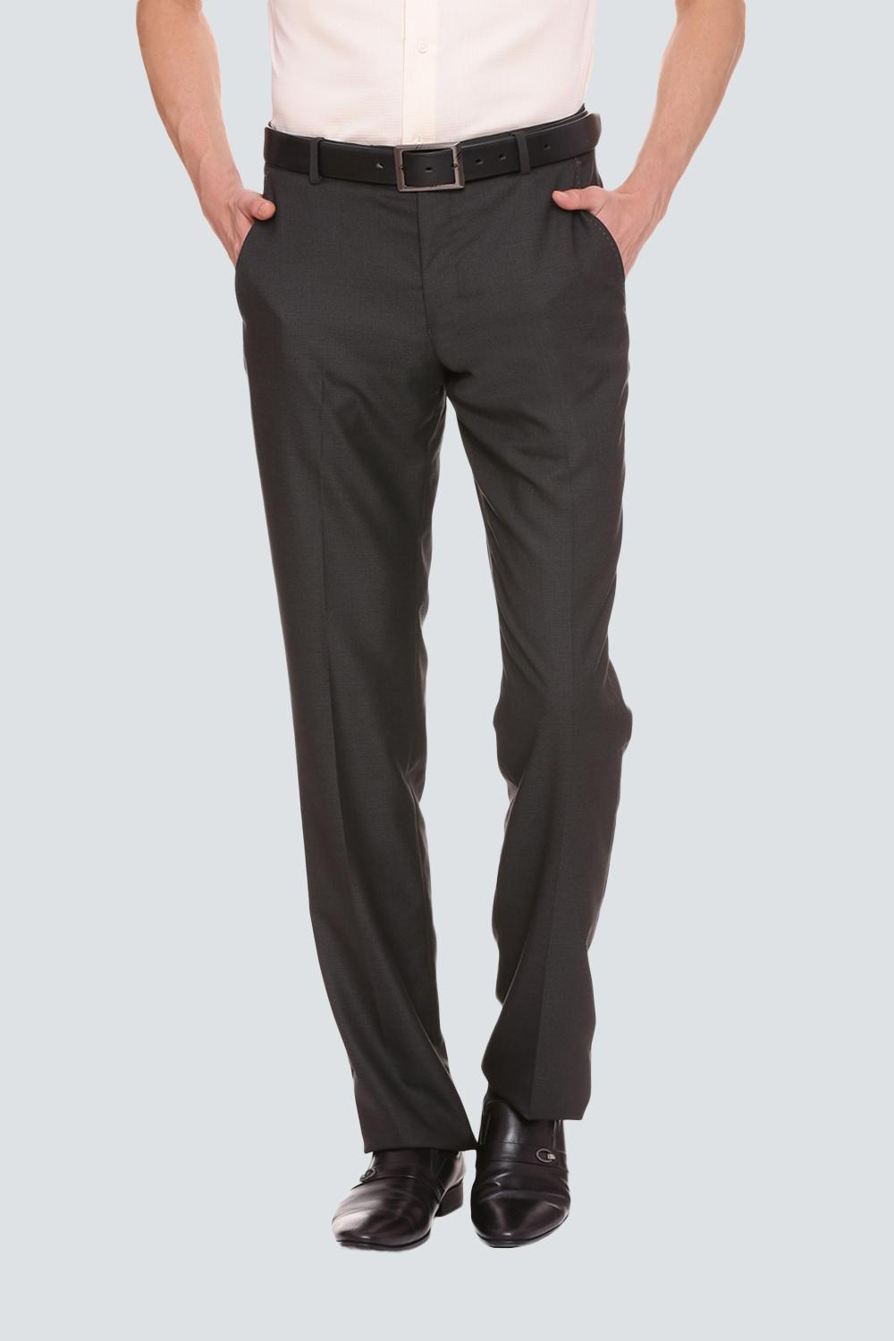 892351508a9 Louis Philippe Trousers & Chinos, Louis Philippe Grey Trousers for Men at  Louisphilippe.com