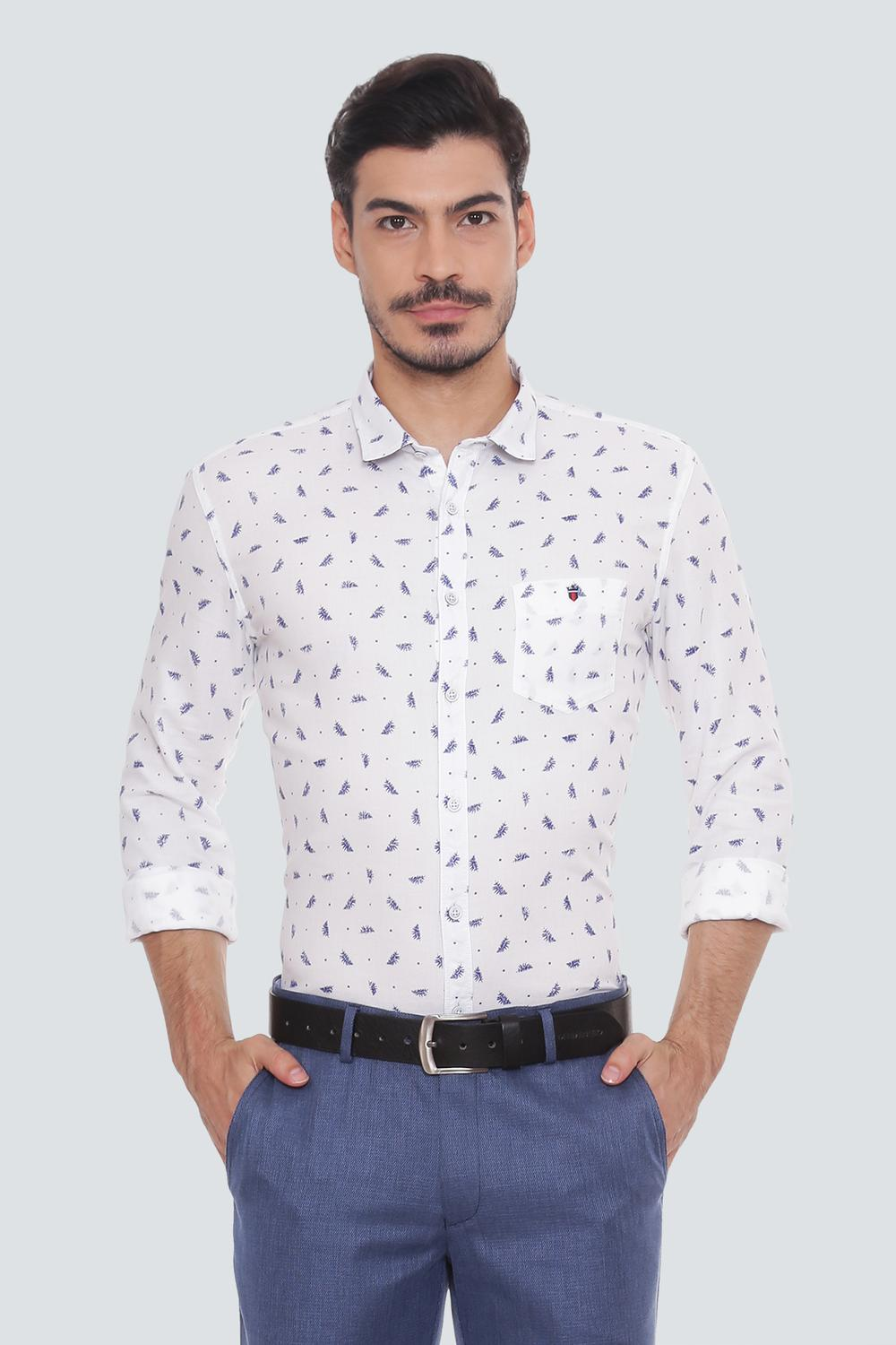 Lp Jeans Shirts Louis Philippe White Shirt For Men At Louisphilippe Com