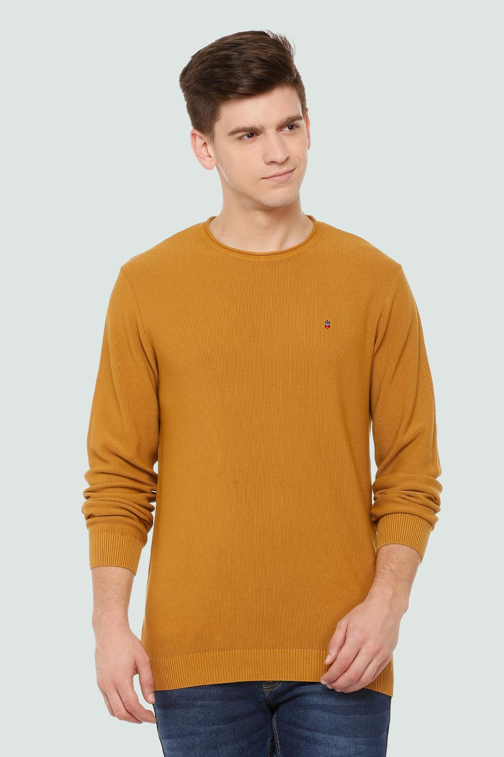 LP Jeans Sweaters, Louis Philippe Yellow Sweater for Men at  Louisphilippe.com