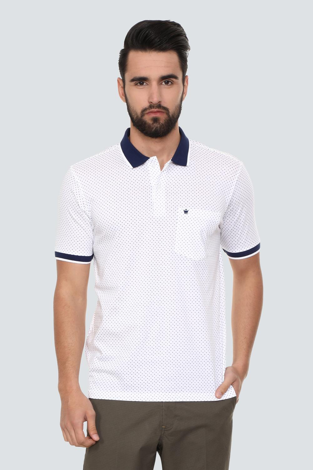 0c04ed7ee5a1 Louis Philippe T-Shirts, Louis Philippe White T Shirt for Men at  Louisphilippe.com