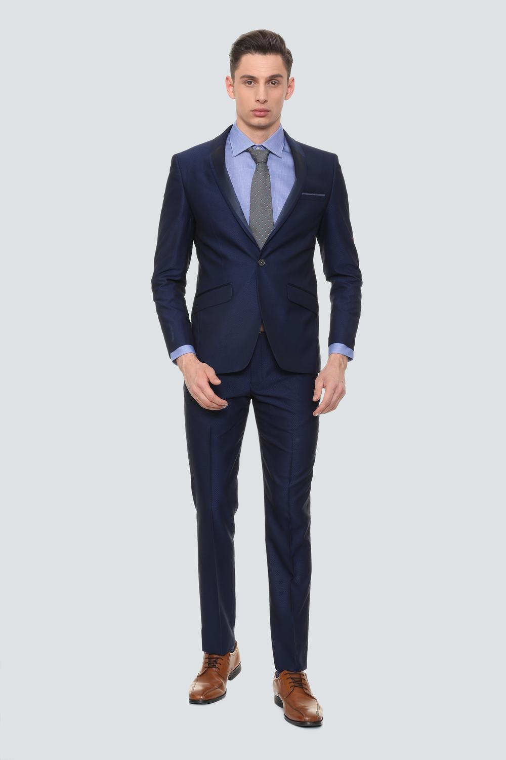 39396b1a Louis Philippe Suits & Blazers, Louis Philippe Blue Two Piece Suit for Men  at Louisphilippe.com