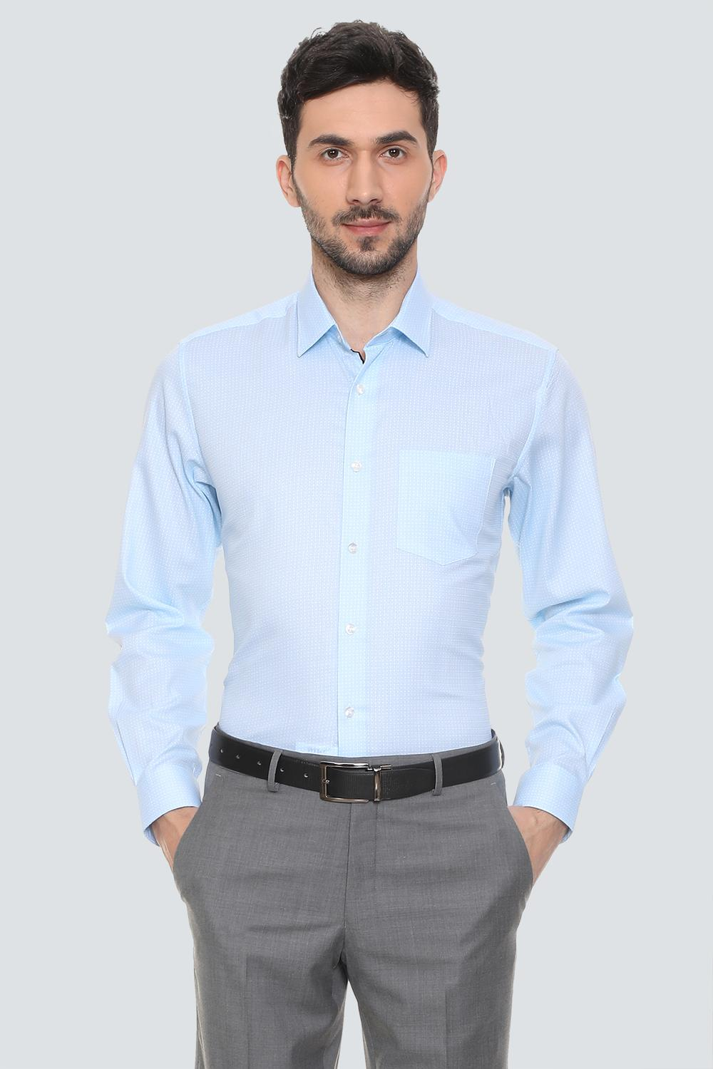 0aa8d9d8d498e9 Louis Philippe Shirts, Louis Philippe Blue Shirt for Men at Louisphilippe .com