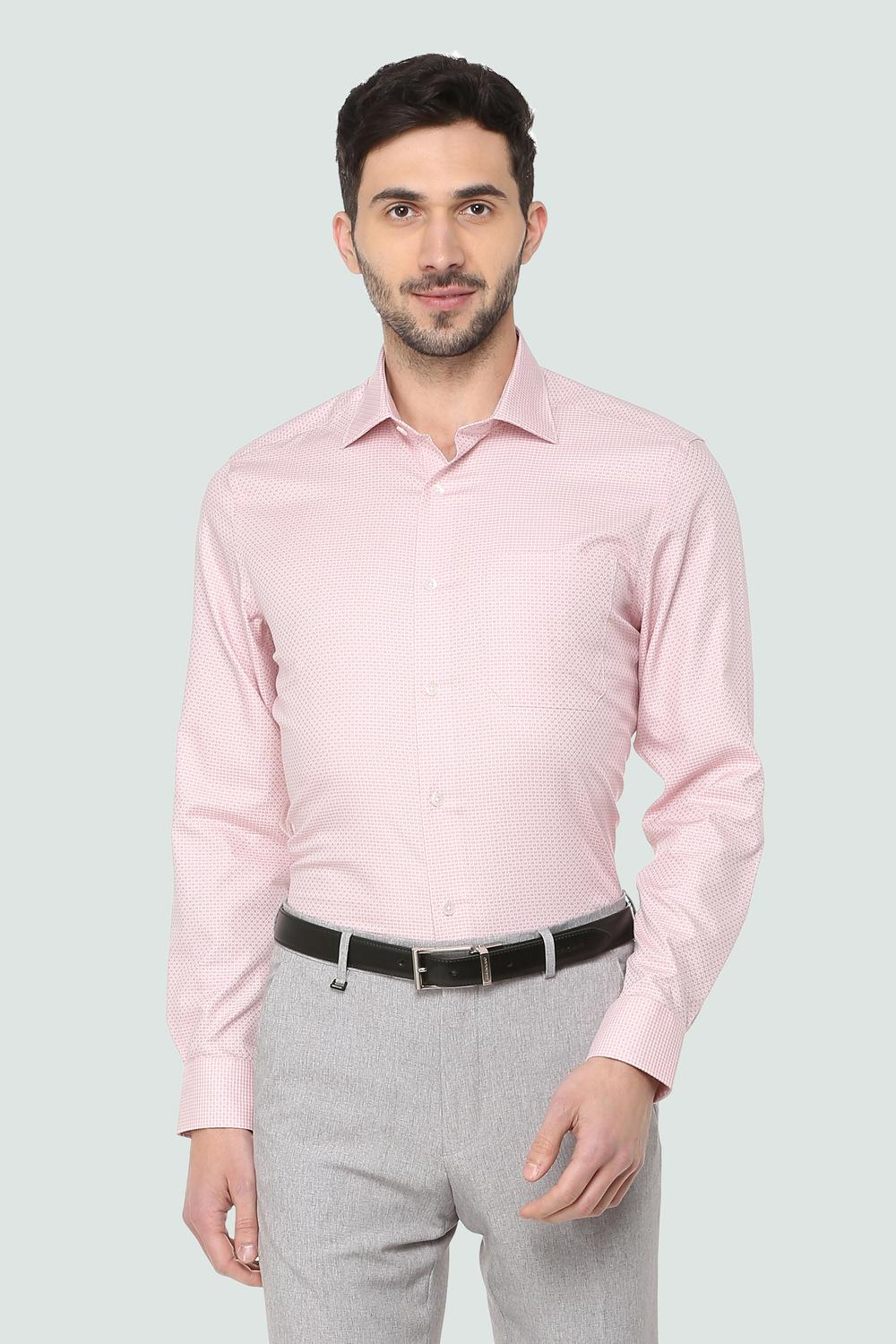 a0d8546ff8caa4 Louis Philippe Shirts, Louis Philippe Pink Shirt for Men at Louisphilippe .com